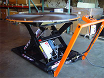 custom lifts mobility air powered air caster bearing drive system